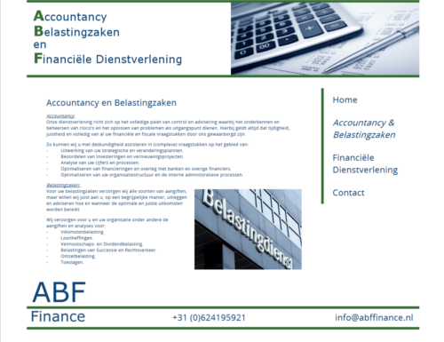 Schermprint ABF Finance